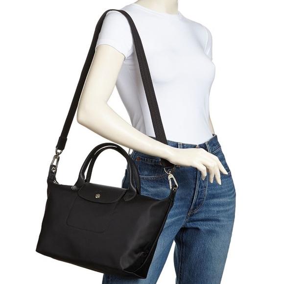 LONGCHAMP Le Pliage Neo Small Shoulder Bag BLACK